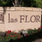 Las Flores Monument Sign